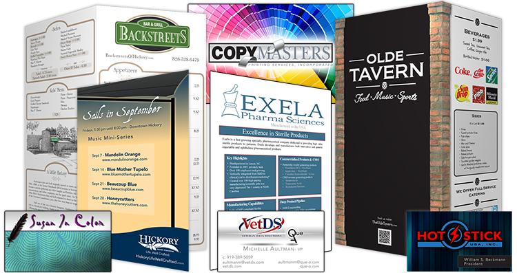 Chad Austin Marketing for the best Graphic Design in Hickory, North Carolina